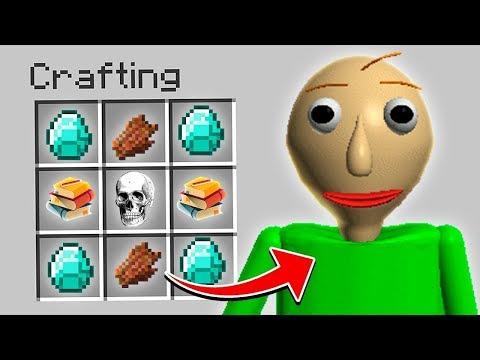 Minecraft - HOW TO SUMMON BALDI FROM BALDI'S BASICS!