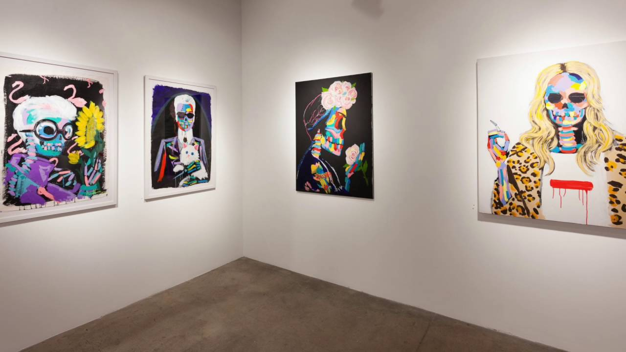 Bradley Theodore Experience At Aca Galleries September 15 Through October 29 2016 Youtube