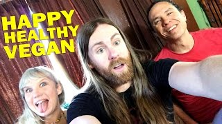 Fun Interview w/ Happy Healthy Vegan