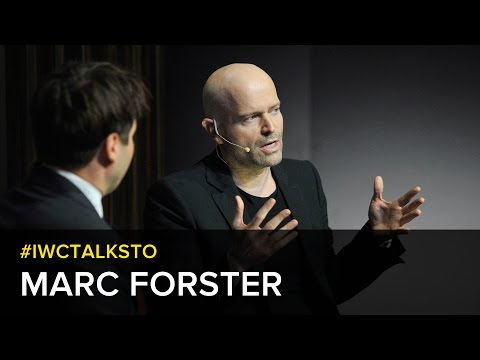 #IWCTalksTo: Marc Forster