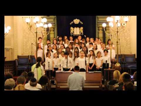 """Ramaz Lower & Middle School Choirs: """"HaMalach"""""""