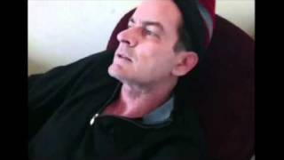 Repeat youtube video Charlie Sheen Does Drugs on Camera at my house