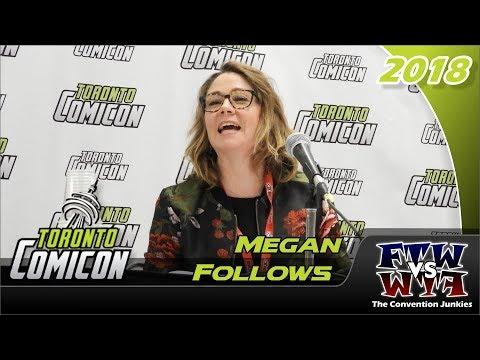 Megan Follows (Anne of Green Gables) Toronto ComiCon 2018 Full Panel