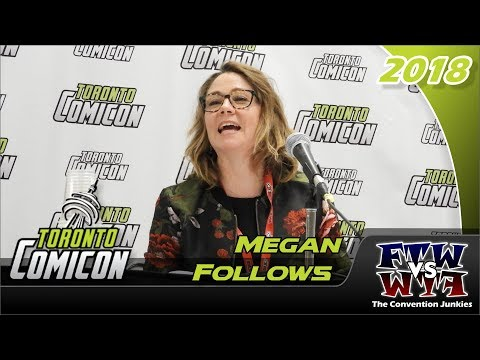 Megan Follows Anne of Green Gables Toronto ComiCon 2018 Full Panel