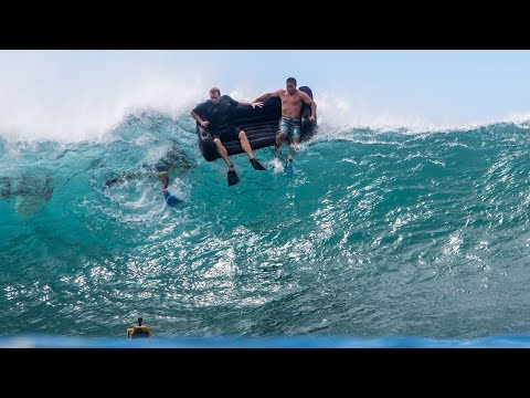 Couch Surfing Perfect Pipeline | Jamie O'Brien