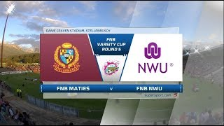 FNB Varsity Cup |  Maties vs NWU