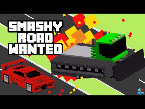 SMASHY ROAD: WANTED My New Record High Scores!