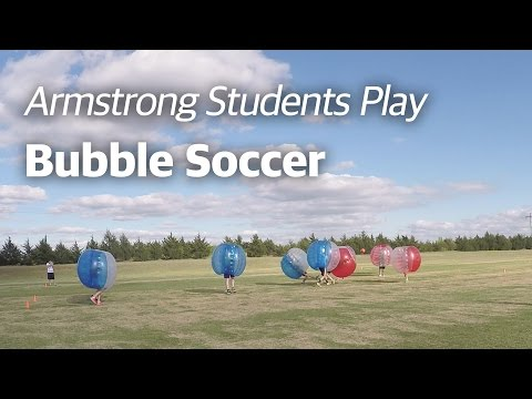 Boing Boing: Armstrong College Students Play Bubble Soccer