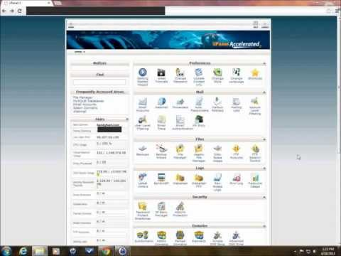 How To Install Joomla 2.5 And 3.0 In CPanel