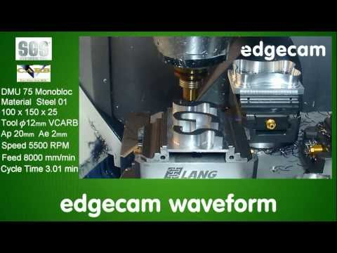 Edgecam Waveform at SGS
