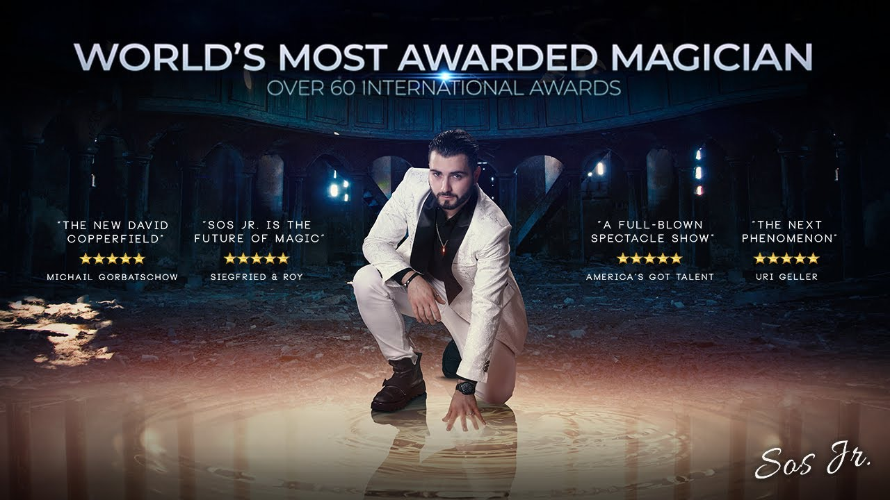 Sos Jr. | World's most awarded magician | Trailer 2021