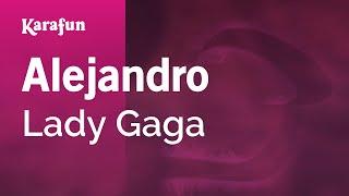 Download Karaoke Alejandro - Lady Gaga * MP3 song and Music Video