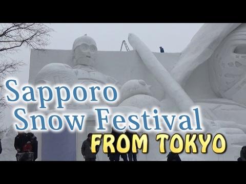 SAPPORO.【雪まつり】.Sapporo Snow Festival 2017 from Tokyo.(vanilla air)