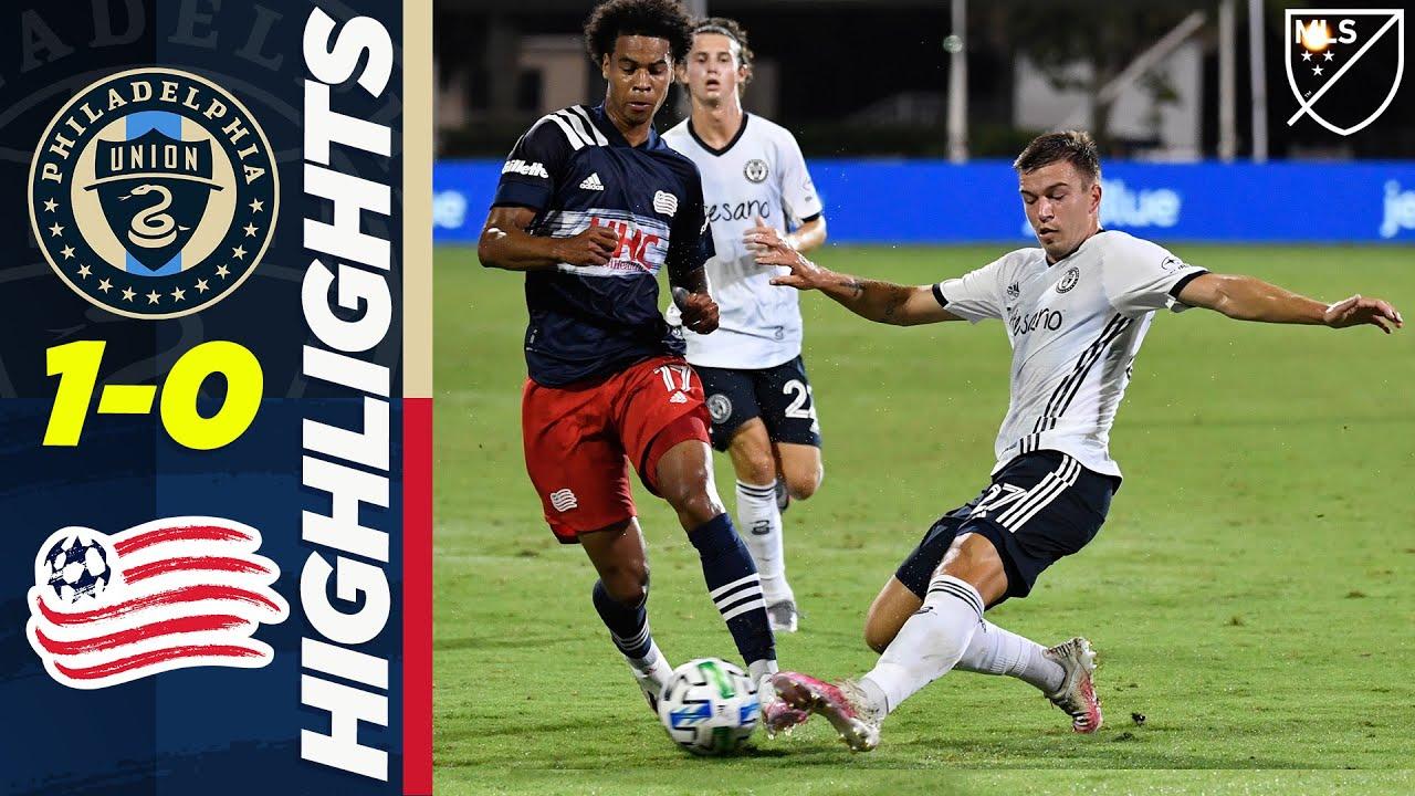 Philadelphia Union 1-0 New England Revolution | Santos' Sublime Goal | MLS Highlights