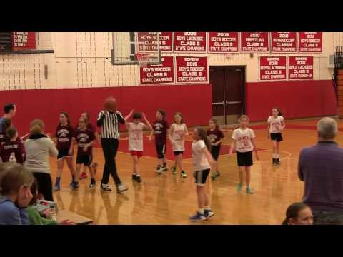 2016 17 Somers Rec Basketball Girl's 5th and 6th Grade Feb  24, 2017