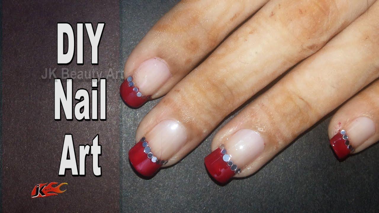 How to do Nail Art | Easy Nail Art for Beginners | JK Beauty Art 014 ...