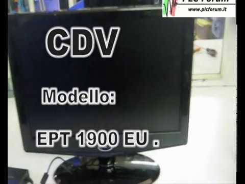 Rip. TV CDV mod. EPT 1900 EU
