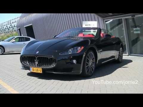 Maserati GranCabrio 'MC Sportline' Sound!! - 1080p HD