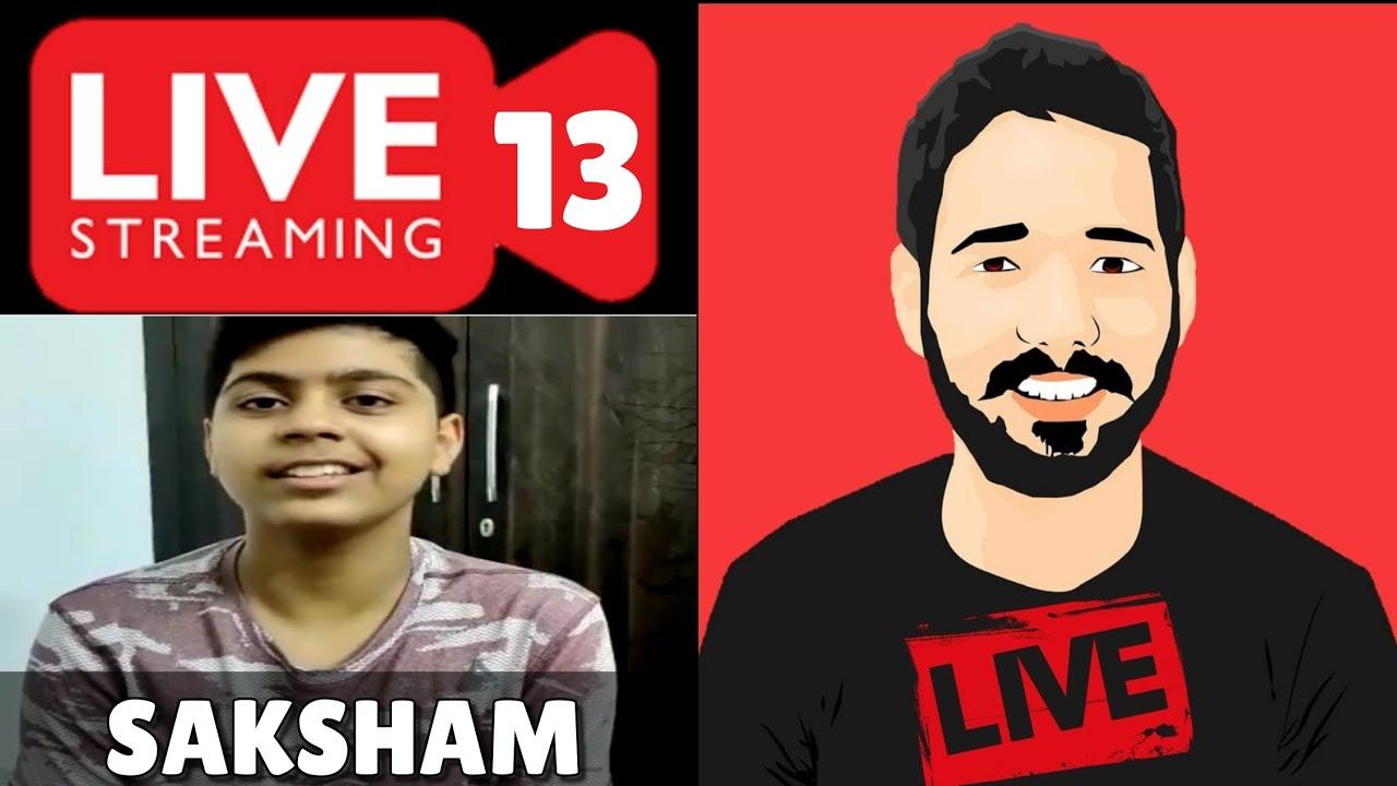 Live Guest Call Giveaway Winner Saksham Sachdeva | Live Stream 13 |