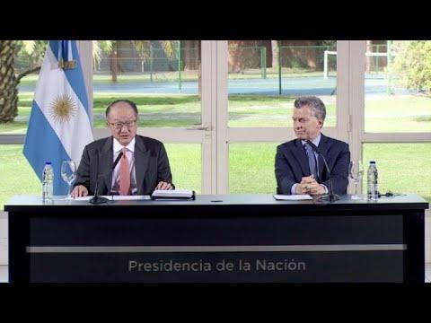BM: Economía argentina crecerá 2,7% en 2017