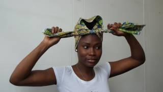 5 easy ways to tie a head wrap by Elizabeth Eldimaa Fashion