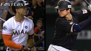 MLB.com FastCast: Stanton, Ohtani talks warm - 11/22/17