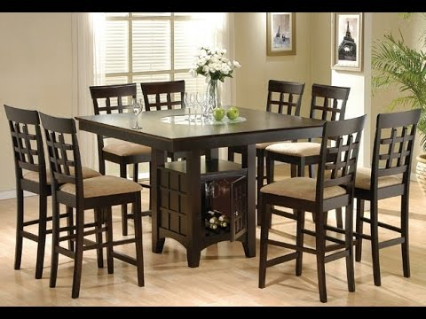 tall kitchen tables and chairs vintage high inspiring idea youtube
