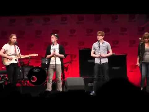 The Gregory Brothers Live - Double Rainbow | VidCon 2014