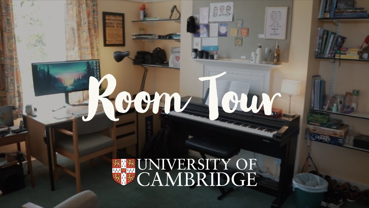 My University Room Tour 2018 - Cambridge medical student accommodation