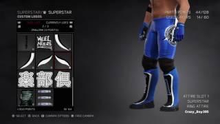 WWE 2K17 COMMENT FAIRE DE L'AJ STYLES SURVIVOR SERIES 2016 TENUE