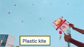 Panni ki Patang se Patang kaise kaate | Plastic kite flying |