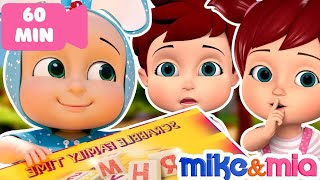 Finger Family Song | +More Nursery Rhymes & Kids Songs - Mike and Mia