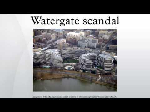Watergate scandal
