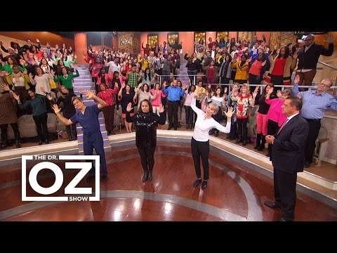 Dr. Oz Shares a Pain-Relieving Neck Stretch