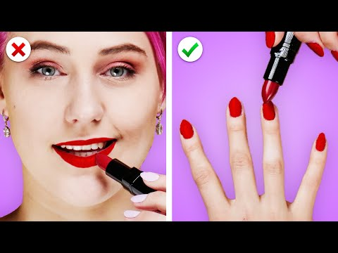 GIRL LIFE HACKS ! 11 Beauty Hacks & Fashion Ideas By Crafty Panda