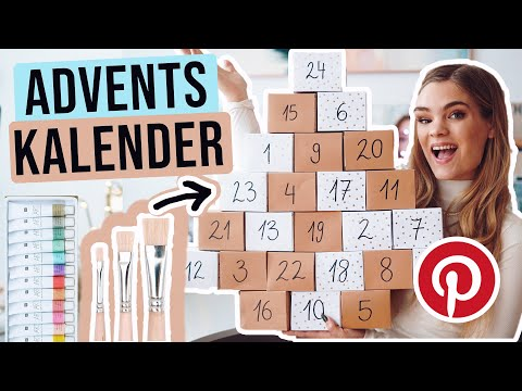 Kreativer Adventskalender DIY