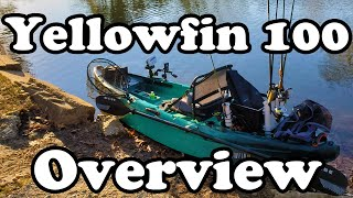 Vibe Kayaks - Yellowfin 100 Overview / Review