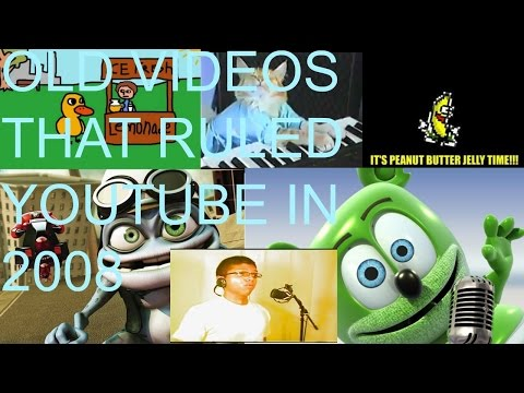 VIDEOS THAT RULED YOUTUBE IN 2008!! GREATEST VIDEOS!!