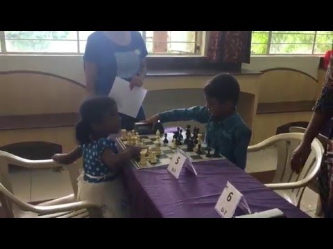 BNCF Chess Tournaments - Children playing chess
