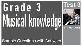Grade 3 Musical Knowledge Questions with Answers - Test 3