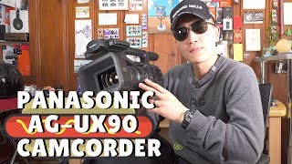 Good Starter Camcorder: Panasonic AG-UX90 Overview in 4K!!