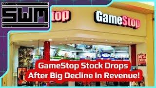 Gamestop Stock Drops After Big Decline In Revenue!