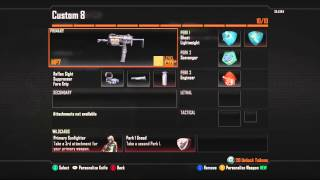 How to get 10 Blood-Thirsty Medals EASILY on Black Ops 2! + Class Set Up