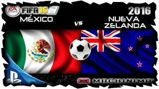 MÉXICO VS NUEVA ZELANDA   8 DE OCTUBRE DEL 2016 PARTIDO AMISTOSO ONLINE PS4