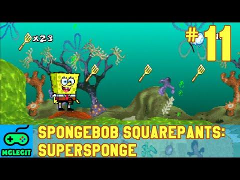 SpongeBob SquarePants SuperSponge Walkthrough Part 11 - Kelpazoic Jungle (PS1) (No Commentary)