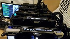Weekly Profit with my 6 GPU MINING RIG!
