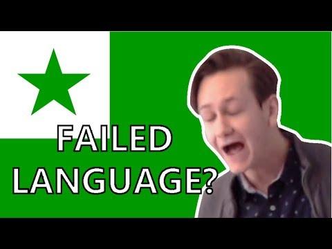 ESPERANTO IS A FAILED LANGUAGE??