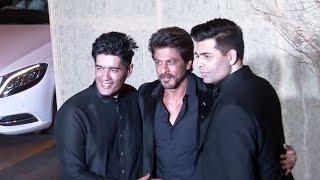 Shahrukh Khan At Manish Malhotra's 50th Birthday Party