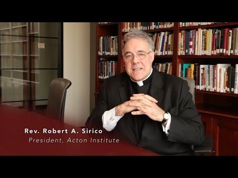 Rev. Robert A. Sirico Comments on President Obama's Meeting with Pope Francis