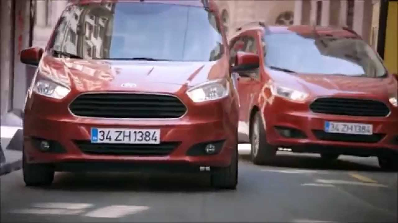 2015 ford tourneo courier youtube. Black Bedroom Furniture Sets. Home Design Ideas